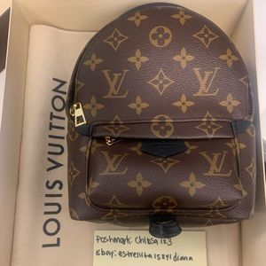 NEW Louis Vuitton Palm Springs Mini Backpack